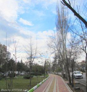 آسمان اردبیل در خیابان حافظ