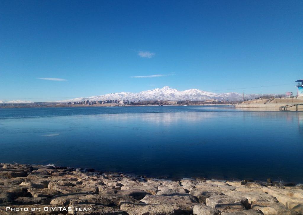آسمان اردبیل - سبلان - دریاچه شورابیل